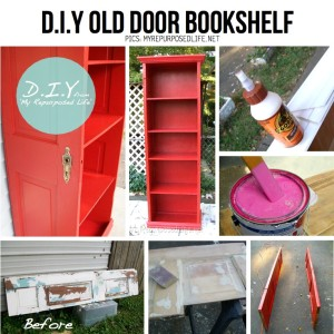 reuse old wooden door diy 3