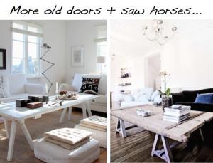 reuse old wooden door diy