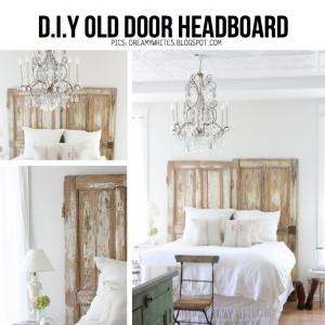 reuse old wooden door diy 4
