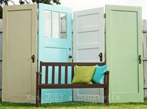 reuse old wooden door diy 5