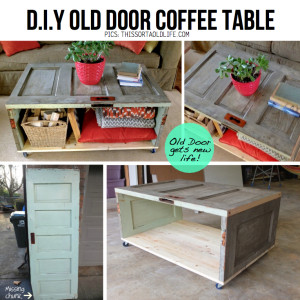 reuse old wooden door diy 6