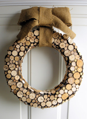 Nature Inspired Christmas Wreath Small Wood Projects 1