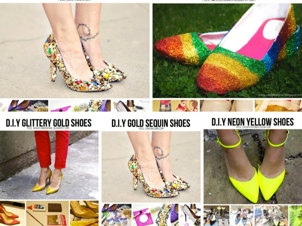 6 stunning diy ideas to design your own shoes part 3 for Diy shoes design
