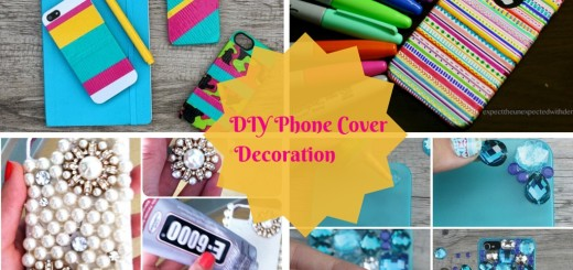 diy mobile phone case cover decoration ideas