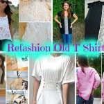8  Stylish DIY T Shirt Makeover Projects And Ideas