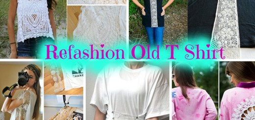 diy refashion t shirt style