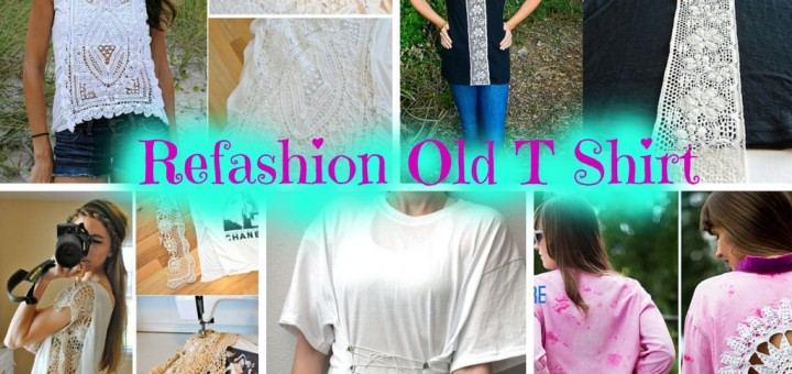 diy refashion t shirt style