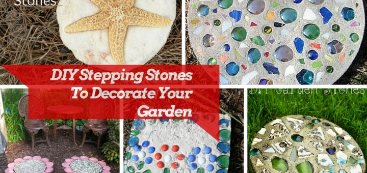 diy stepping stones ideas