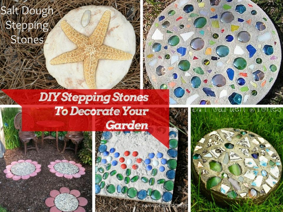 8 The Most Creative DIY Stepping Stones Ideas: Part 1