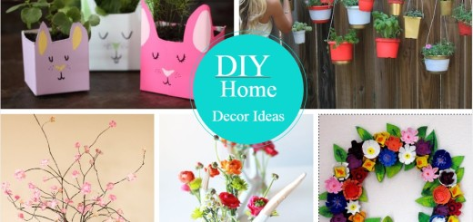 26 incredibly easy and quick diy home decor ideas part 1 - Creative decoration ideas for home without ripping you off ...
