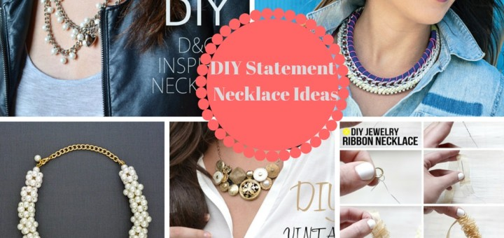 how to make a necklace diy