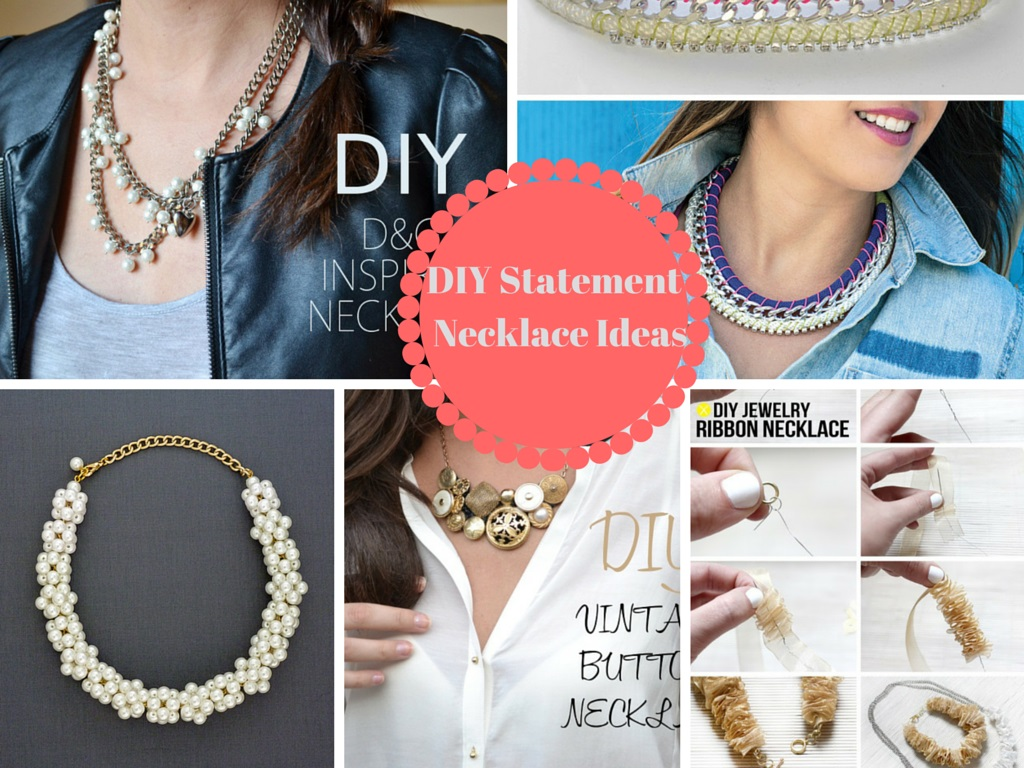 6 DIY Gorgeous Ways On How to Make a Necklace: Part 2
