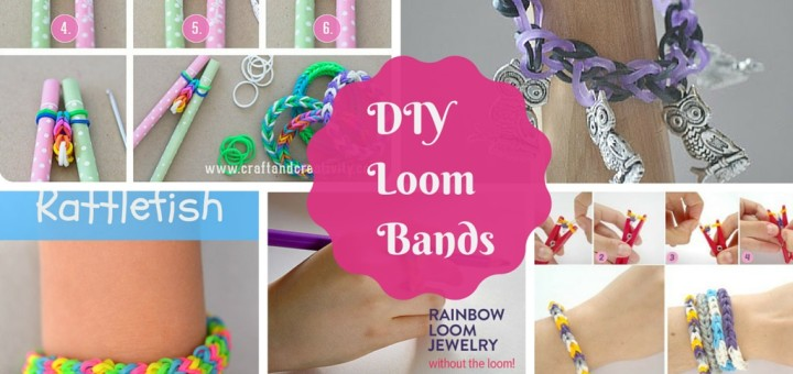 how to make loom bands diy