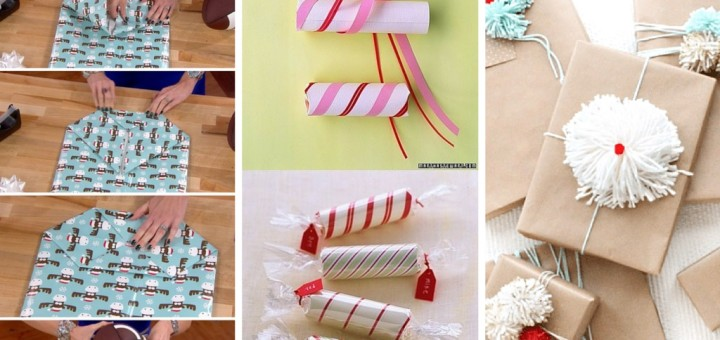 how to wrap a gift diy handmade