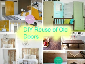 9 The Most Unique Ways To Reuse Old Wooden Doors: Part 1