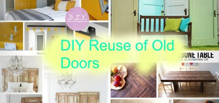 reuse old wooden door diy handmade