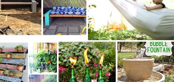 backyard ideas easy projects diy