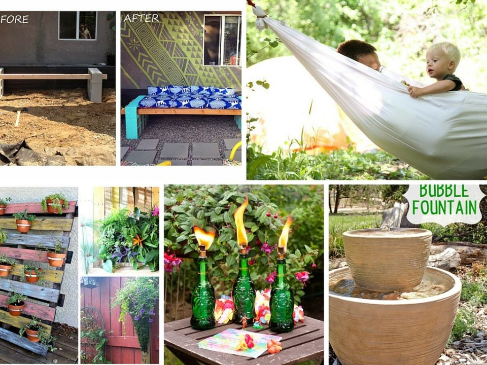 backyard ideas easy projects diy