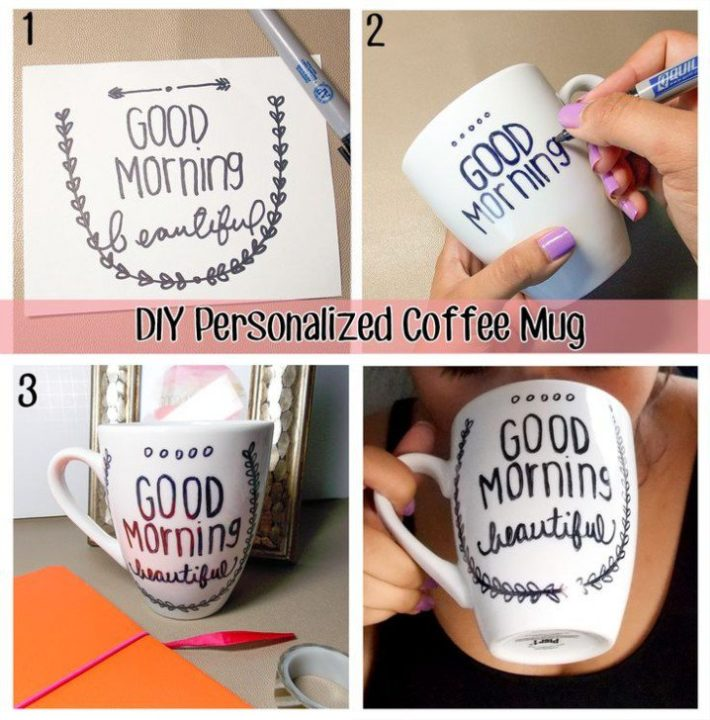 These 6 DIY Coffee Mugs Will Make Your Mornings Special