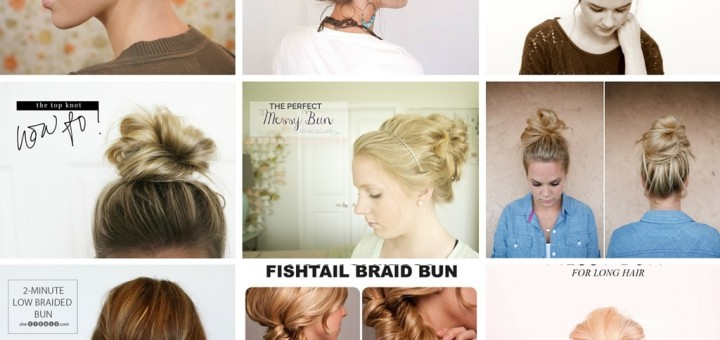 do it yourself messy bun tutorial ideas