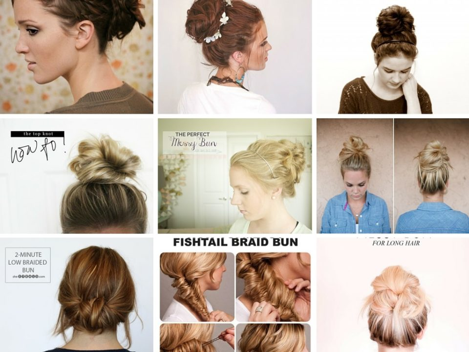 14 Very Easy Do It Yourself Messy Bun Tutorial: Part 2
