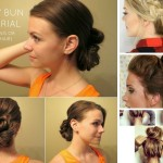 11 DIY Messy Bun Tutorial For Mediun to Long Hair: Part 1