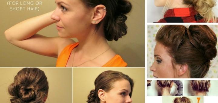 11 Diy Messy Bun Tutorial For Mediun To Long Hair