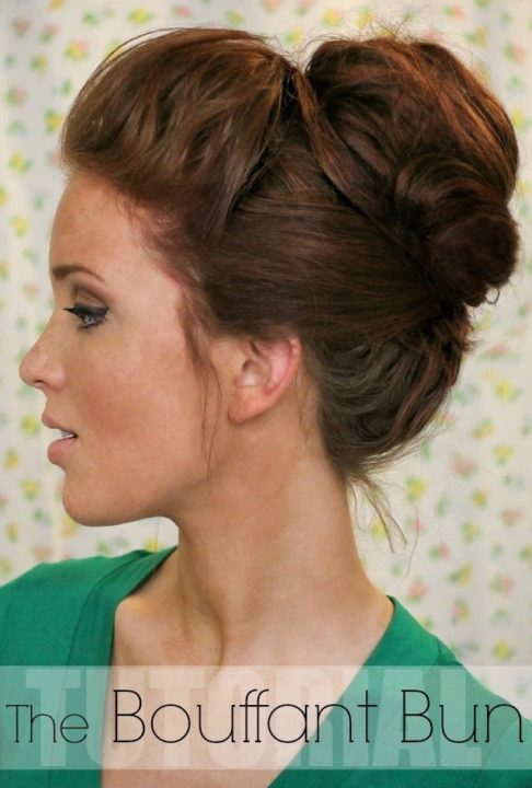 messy buns for long hair buns2