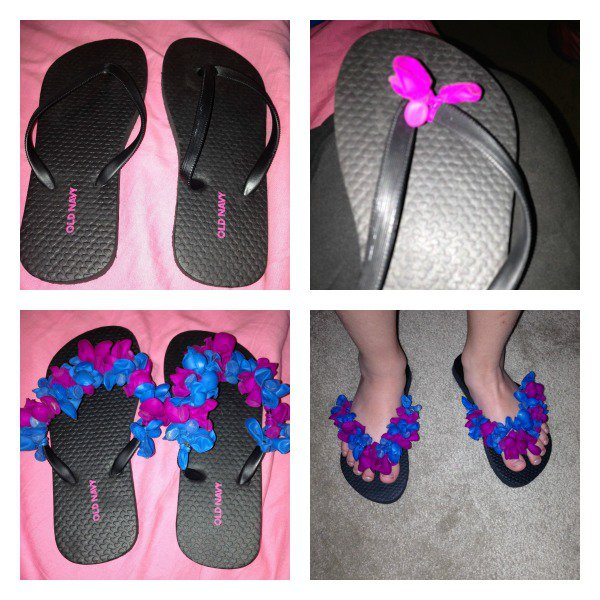10 super cool and easy to try diy flip flops ideas. Black Bedroom Furniture Sets. Home Design Ideas