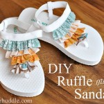 9 The Most Fashionable DIY Flip Flops Ideas to Try