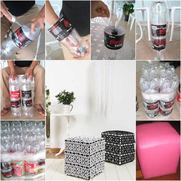9 useful things made entirly by reusing plastic bottles for Waste things into useful things