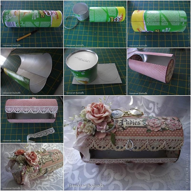 Make a girly vintage jewelry box diy home decor ideas