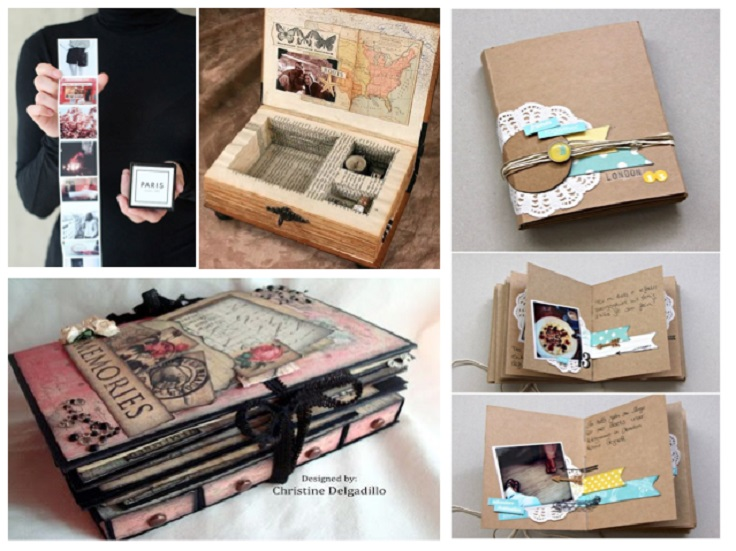 Create a music box in a book diy home decor ideas