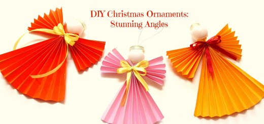 DIY Christmas Ornament Angel 445