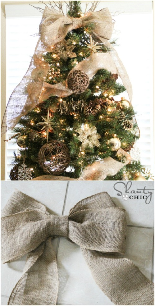 20 Amazing Diy Rustic Christmas Decoration Ideas To Try