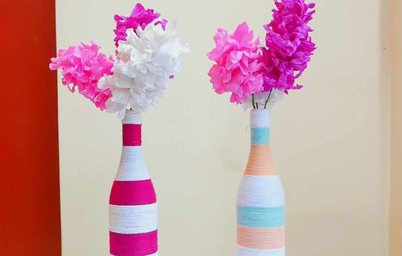 Image gallery handmade decoration ideas for Handmade things for decoration