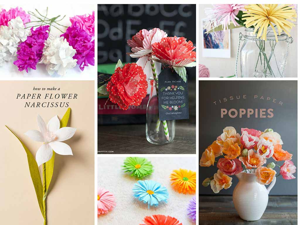 22 Easy DIY Flowers Ideas : How to Make Paper Flowers Is Simple