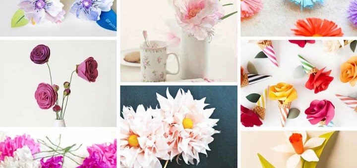 17 Stunning How To Make Paper Flowers Tutorials Sad To Happy Project