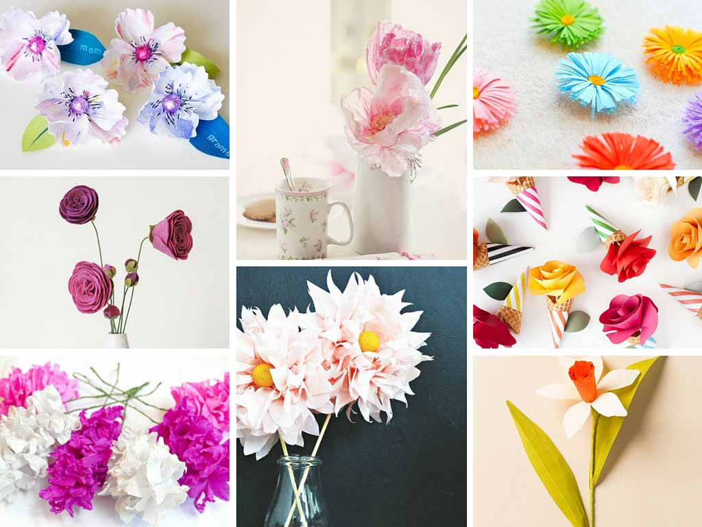 17 Stunning How to Make Paper Flowers Tutorials