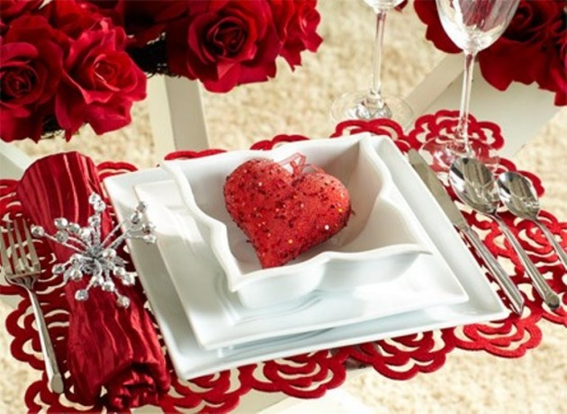 20+ DIY Table Decoration Ideas To Try For Valentines Days