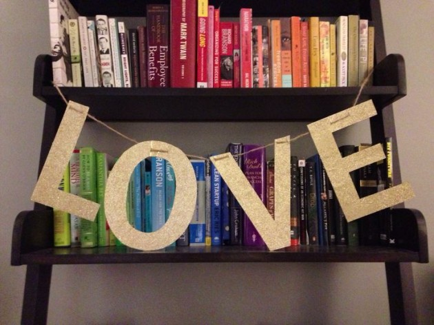 Handmade Love Signs For Valentines Days