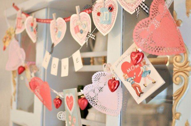diy decor ideas for Valentines Days