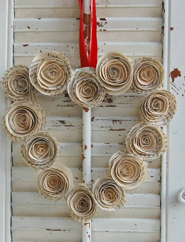 diy wreaths for valentines days