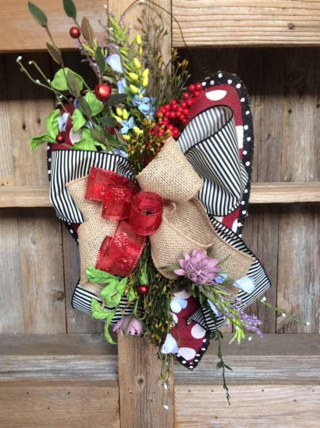 19 Super Beautifuly Sweet Wreaths Ideas For Valentines Days