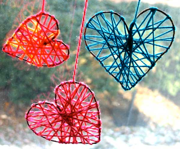 heart shaped diy ideas Valentines Days