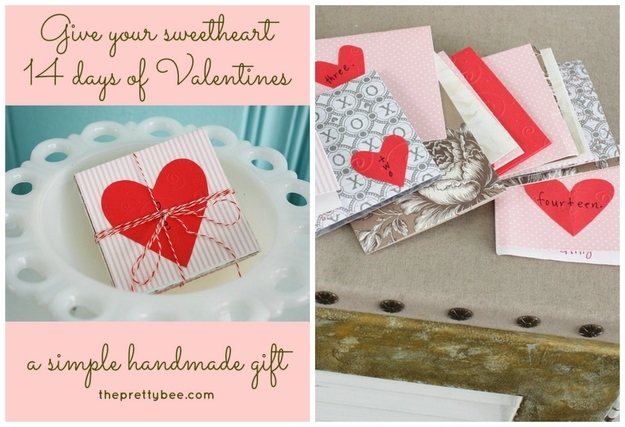 homemade cards for Valentine s Day