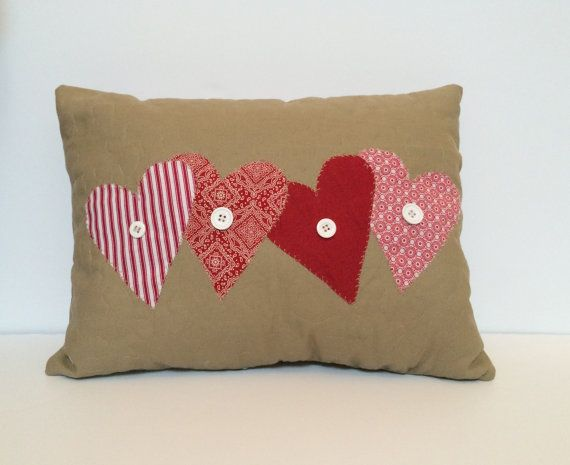 romantic diy pillow covers for Valentines Days