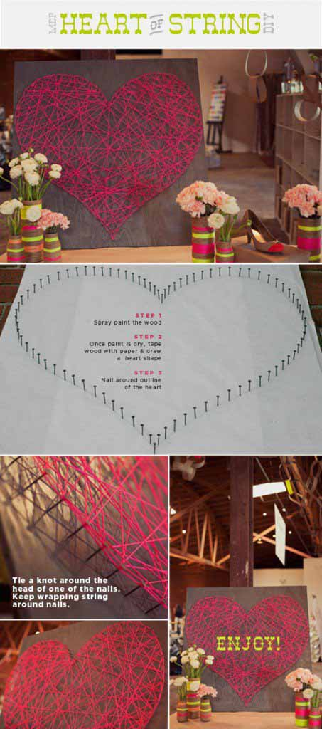 romantic diy projects for valentines