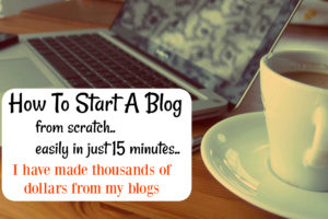 How To Start A Blog/Website in 30 Minutes: The Only Guide You Need