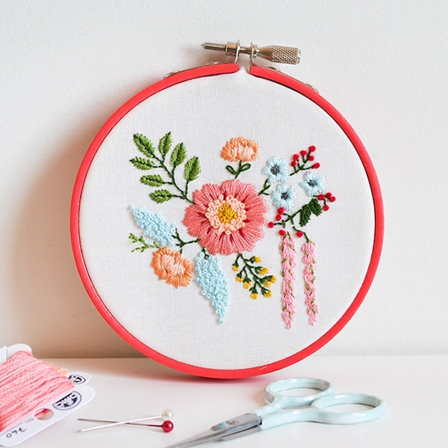 Cute diy embroidery projects for weekends sad to